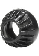 Oxballs Turbine Silicone Cock Ring 1.75in - Black